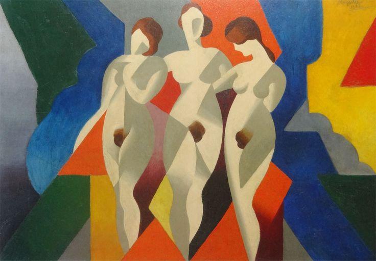 """Trois femmes"", 1919."