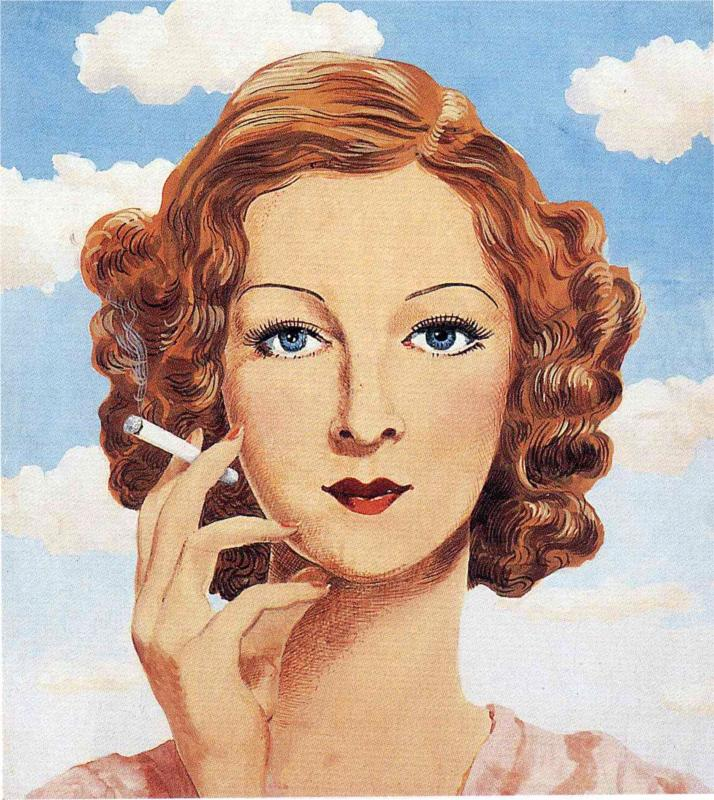 """Georgette Magritte"", 1934."