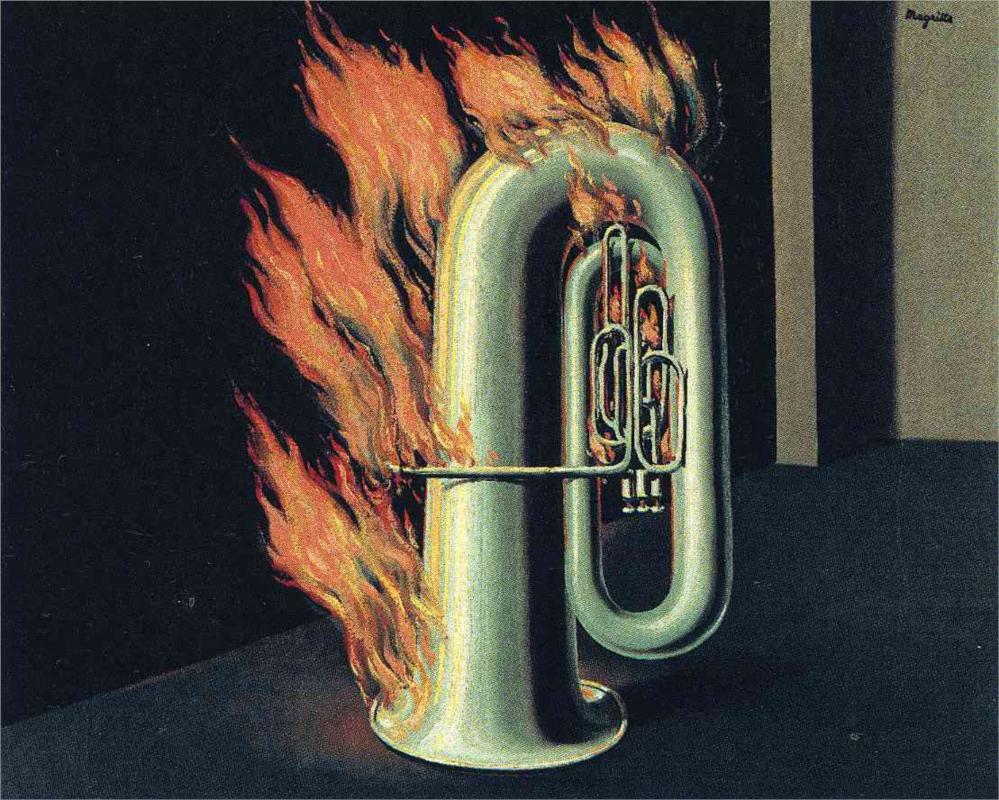 """""""La scoperta del fuoco"""", 1935."""