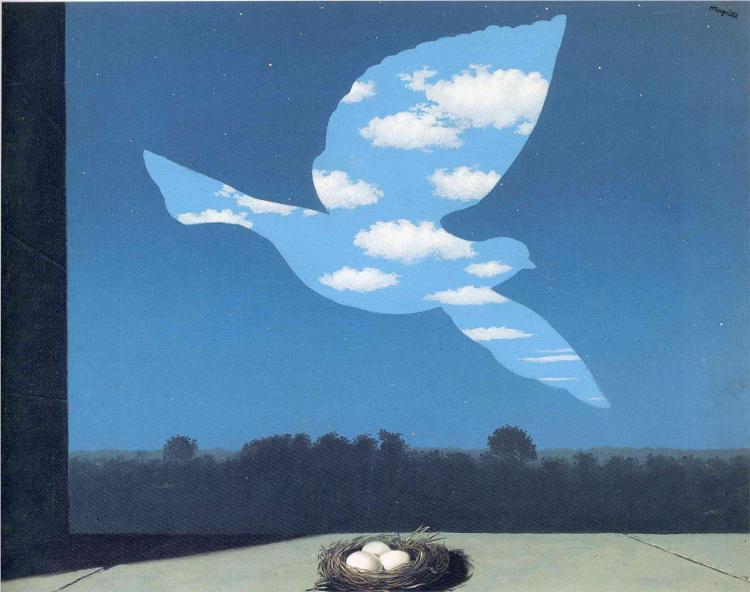 """""""Il ritorno"""", 1940."""