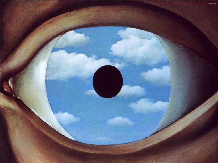 """""""Il falso specchio"""", 1928."""