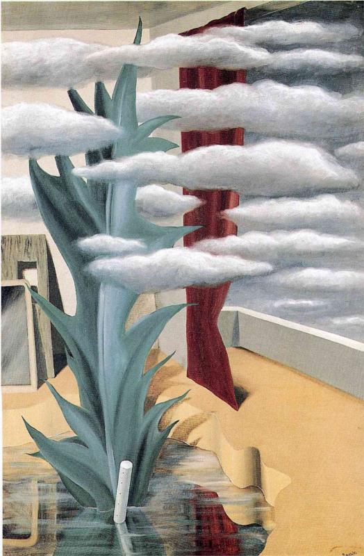 """""""La rottura tra le nuvole"""", 1926."""