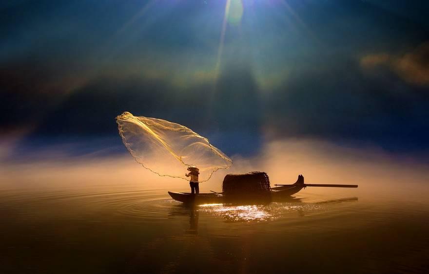 """Sprinkle Net"" di Fuyang Zhou."