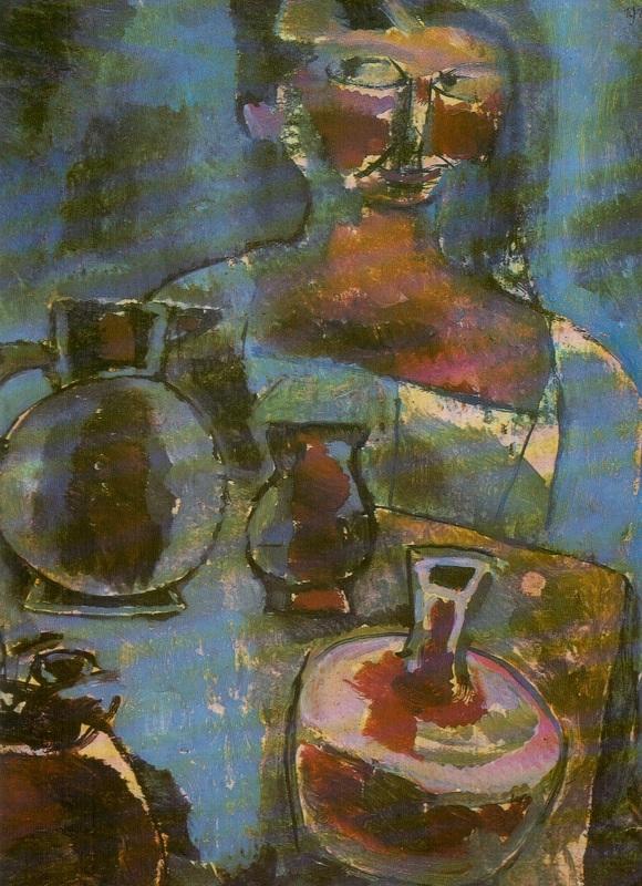 """""""Ragazza con brocche"""", 1910."""
