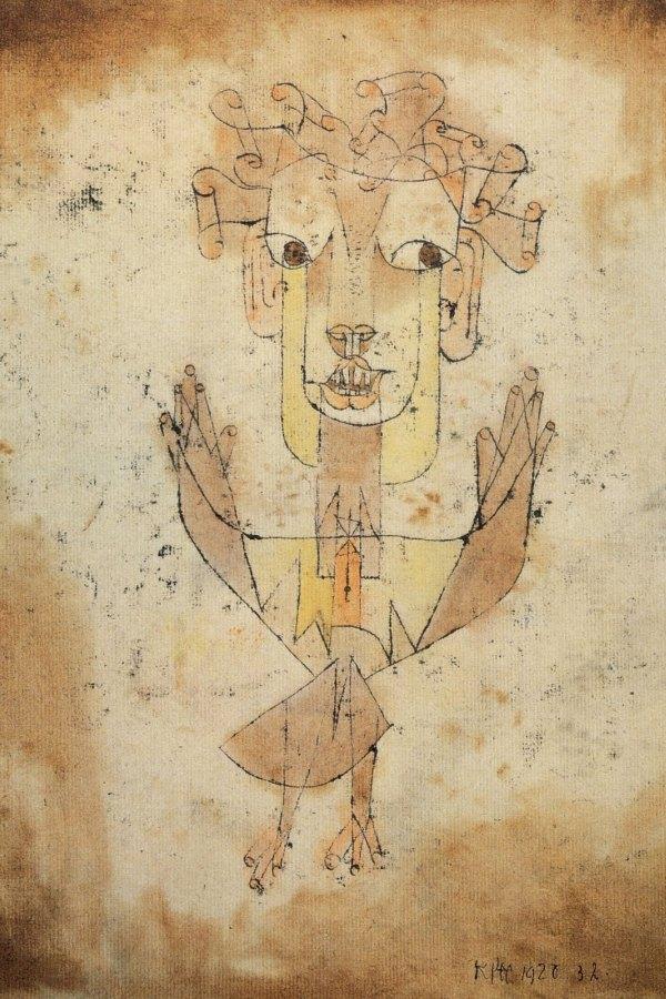 """Angelus Novus"", 1920."