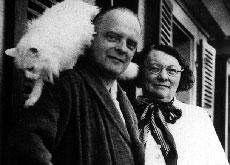 Paul Klee insieme alla moglie Lily Stumpf.