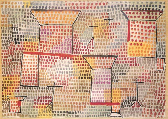 """Croci e colonne"", 1931."