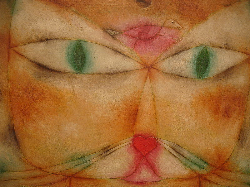 """Gatto e uccello"", 1928. The Museum of Modern Art, MoMA, New York."