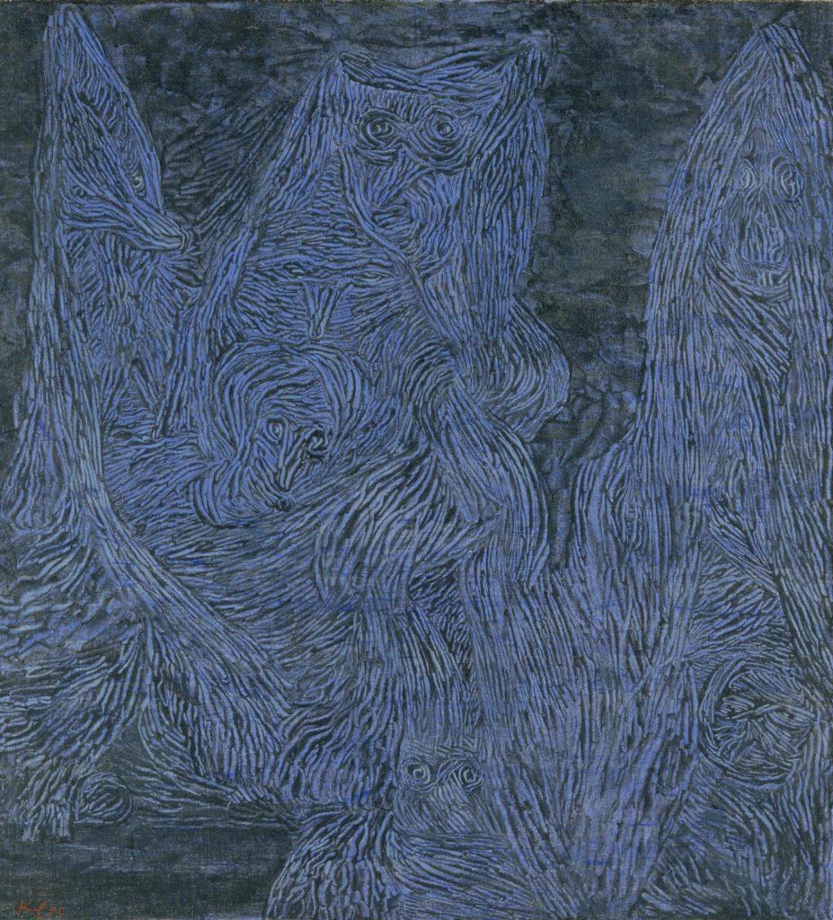 """""""La notte di Valpurga"""", 1935. Londra, Tate Gallery."""