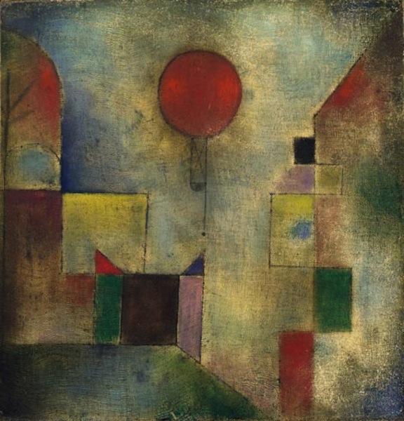 """Palloncino rosso"", 1922. Solomon R. Guggenheim Museum, New York."