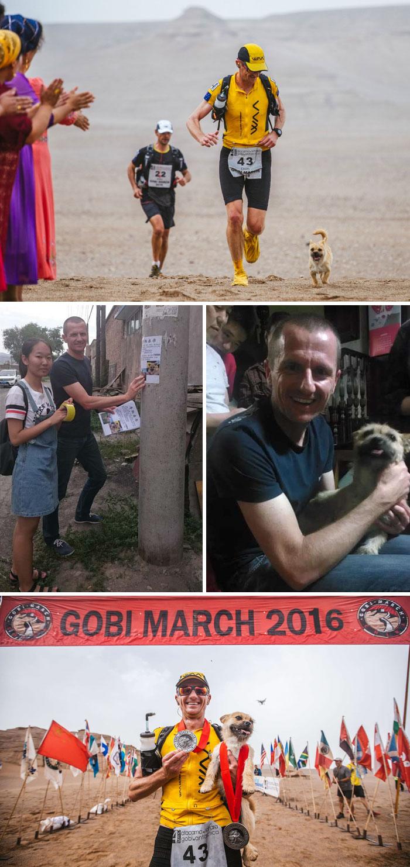 Un cane randagio, che si era unito ad un corridore durante una gara, era poi scomparso. L'atleta, per ritrovarlo, è tornato in Cina, luogo in cui era avvenuto quell'incontro.
