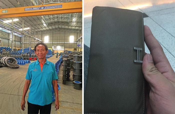 Un senzatetto che aveva consegnato un portafogli pieno di soldi, è stato premiato con un lavoro in una fabbrica ed un appartamento nuovo in cui vivere.